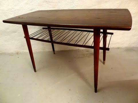 Rymd Interiör 60-70 tals möbler