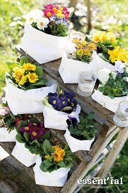 Ha llegado la primavera, decora tus flores com los saxos de Essent'ial, en @2150 Idées