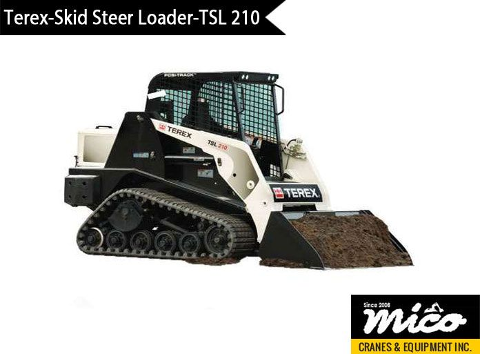 59 best skid steer loaders images on pinterest skid steer loader tsl 210 rubber track loader for sale from mico equipment request a quote from us fandeluxe Images