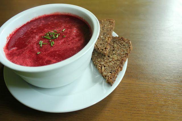 Dewii : Krémová polévka z červené řepy