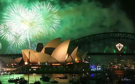 This is the firework in Sydney.