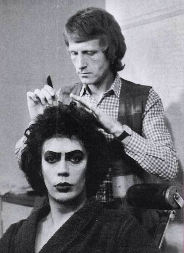 The Rocky Horror Picture Show (1975) | 29 Awesome Behind-The-Scenes Photos From The Sets Of Classic Movies