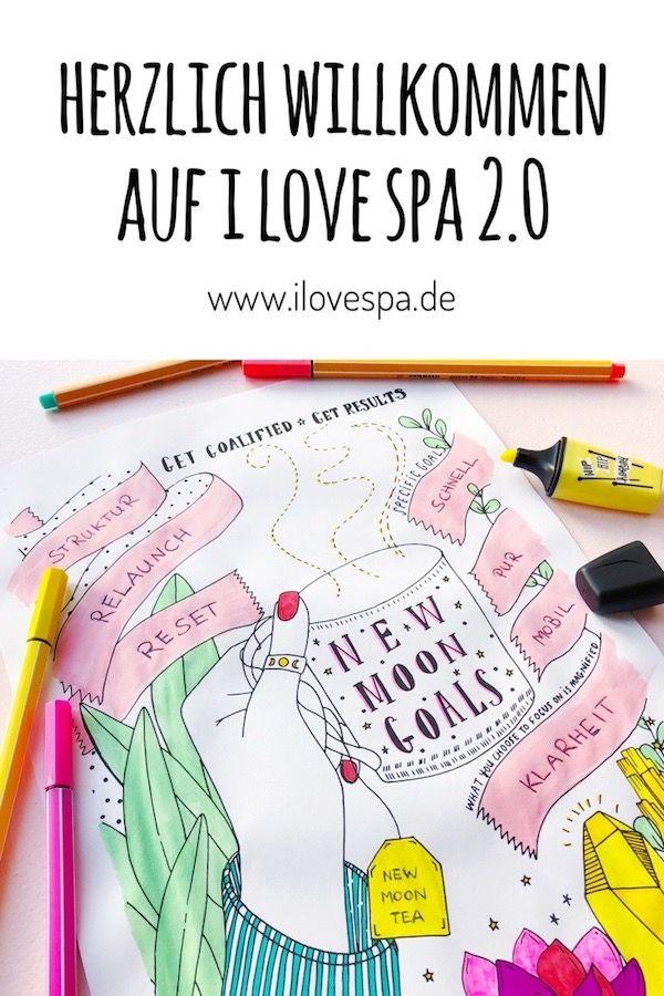 Ding Ding Ding Relaunch! Herzlich Willkommen auf I LOVE SPA 2.0! – I LOVE SPA – Spas, Wellness, DIY Kosmetik Rezepte, Yoga & Selbstliebe