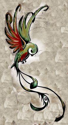 Bird tattoo maybe cover up tat?