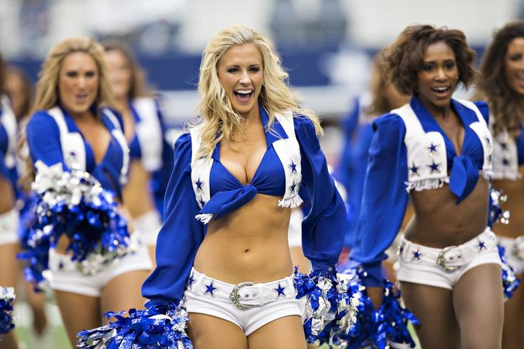 The were plenty of NFL highlights over the weekend, none more memorable than the league's cheerleaders in action.