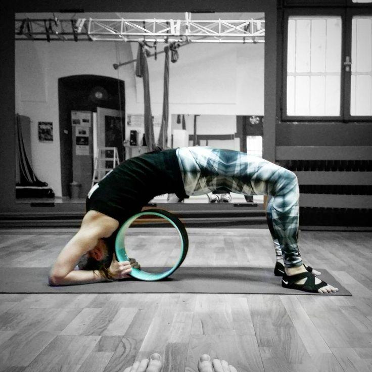 "59 To se mi líbí, 1 komentářů – Eva Studničková (@ewik_a) na Instagramu: ""Wheel pose s yogawheelem. #yog #yogalove #yogalover #myloveyoga #myyogalife #yogatime #yogatimes…"""