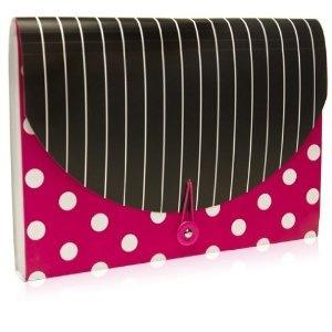 Carolina Pad Simply Chic Accordion Folder