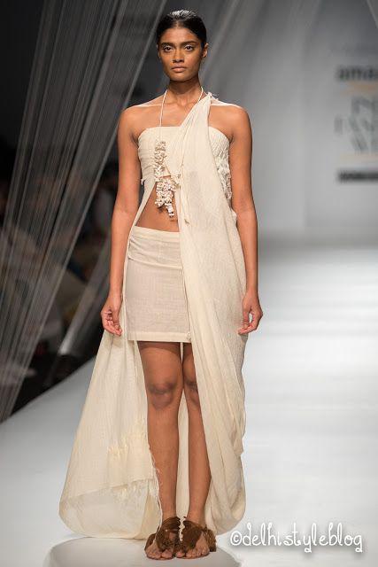 Vaishali S Yajna SS16 The Woven Universe AIFW Indian Fashion