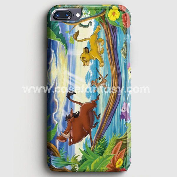 Timon Pumbaa And Simba iPhone 7 Plus Case | casefantasy