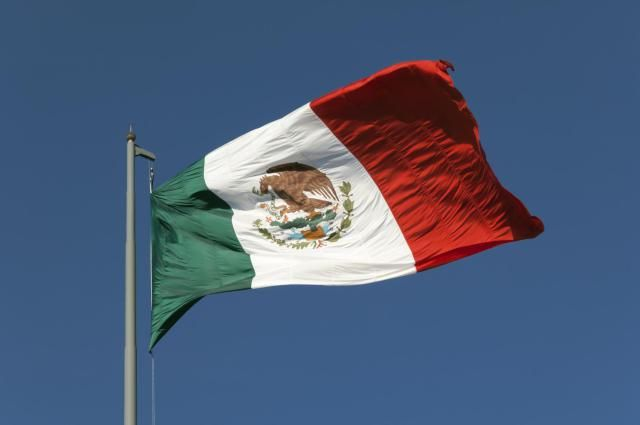 Find out about the history and meaning of the Mexican flag, and its colors and symbols.