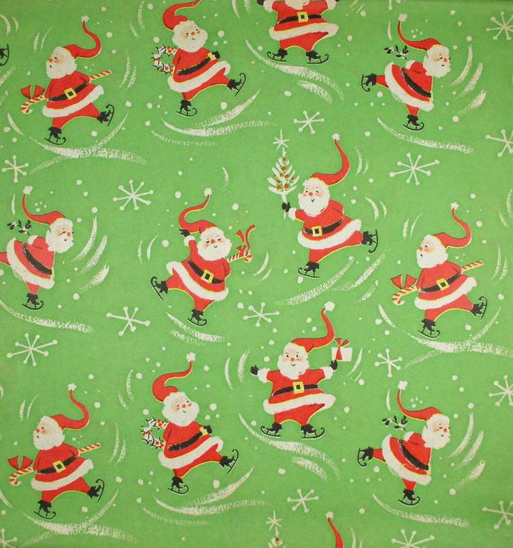 17 best ideas about vintage wrapping paper on pinterest for Best christmas wrapping paper