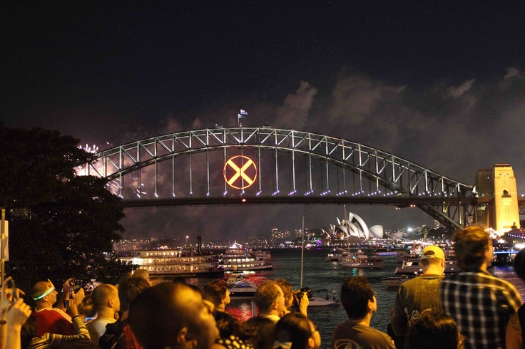 New Years Eve 2010/2011, McMahon's Point, Sydney Harbour