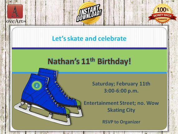 Hey, I found this really awesome Etsy listing at https://www.etsy.com/listing/248928018/instant-download-ice-skating-invitation