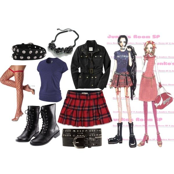 Nana Osaki by catloverd on Polyvore featuring polyvore, fashion, style, NIKE, Old Navy, Hollister Co., H&M, Forever 21, Simply Vera and nana osaki