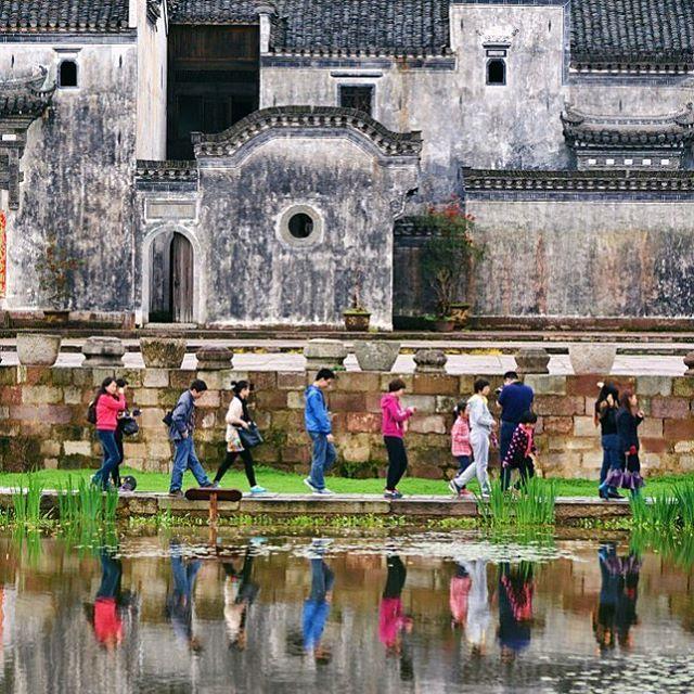 Chengkan Village (呈坎村) in Huizhou District, Anhui, China