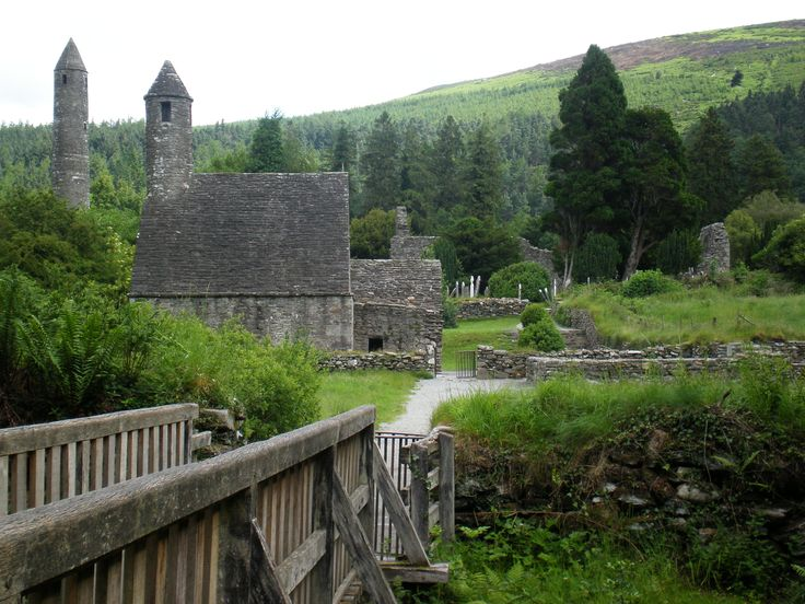 Glendaloch is a glacial valley in County Wicklow, Ireland. It is renowned for its Early Medieval monastic settlement founded in the 6th century