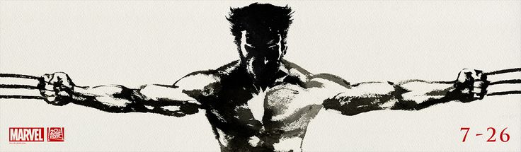 The Wolverine movie, in theaters July 26, 2013.