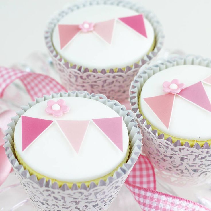 personalised bunting birthday cake decorating kit by clever little cake kits | notonthehighstreet.com