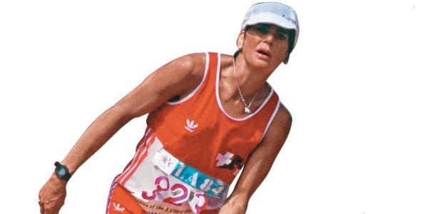 Llegué de última en la maratón y me convertí en heroína
