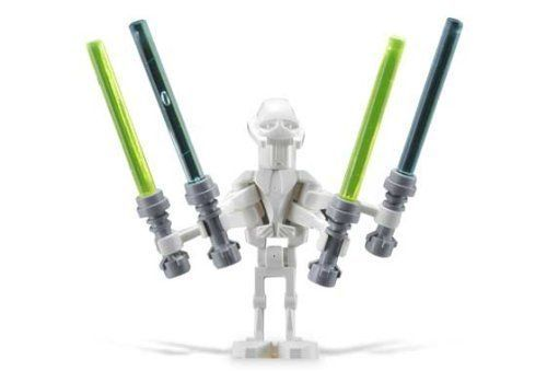General Grievous  LEGO Star Wars Minifigure with Four Lightsabers >>> Want additional info? Click on the image.