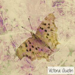 leafy butterfly digital art