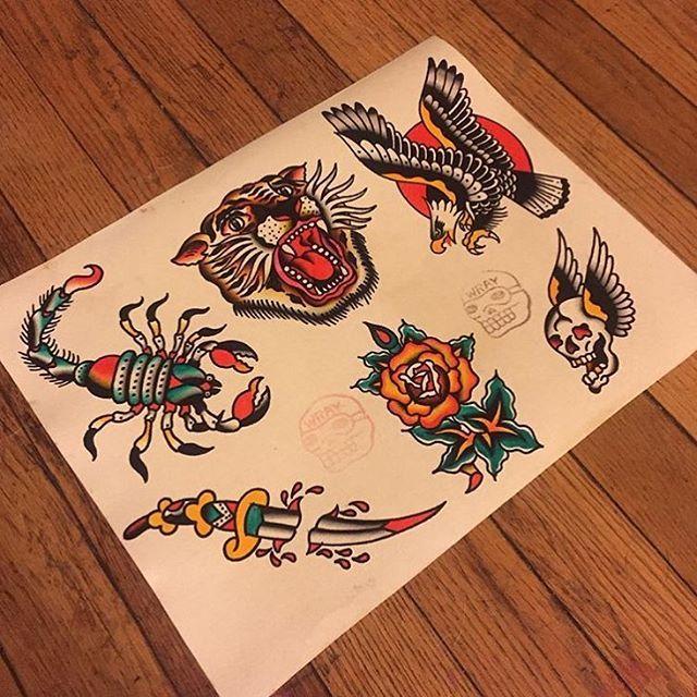 Flash by @cody2710 #trflash#traditional_flash#tattoo#tattooflash#traditional#traditionaltattoo#traditionalflash#tattooart#flash#art#illustration#drawing