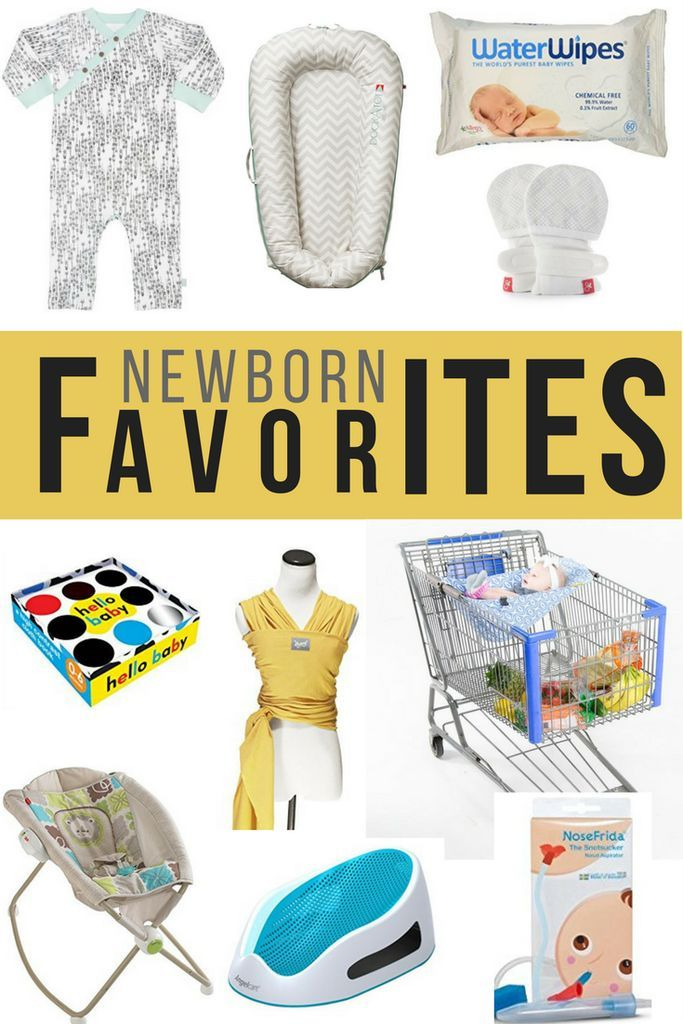 For my second time around, I had a few different favorites! I'm excited to share what has helped during the newborn phase!