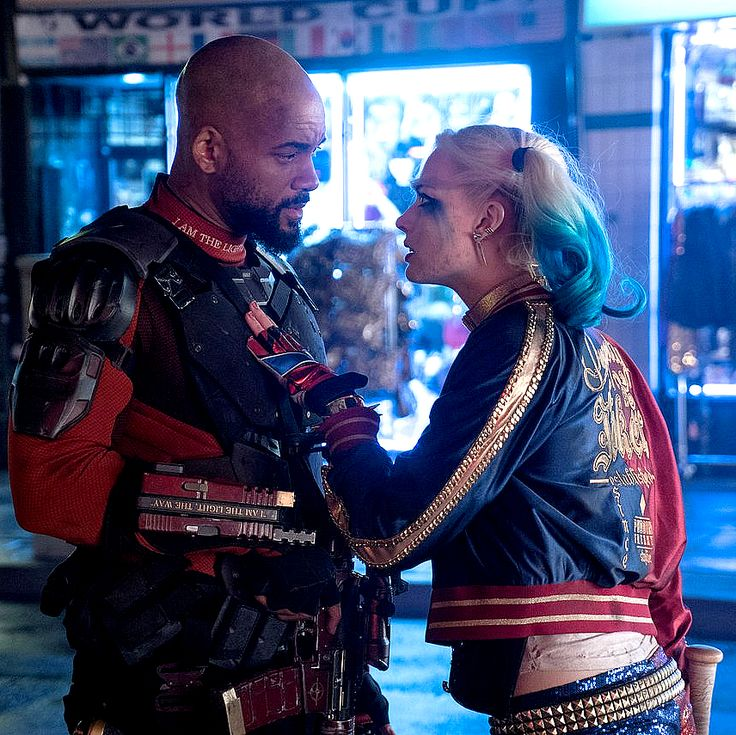 New still of Harley Quinn and Deadshot in Suicide Squad