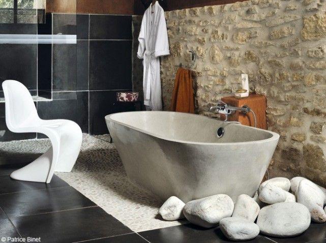 http://www.conseil-architecture.com/ Salle de bains zen #deco #bain