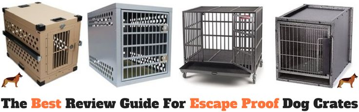 Heavy Duty Dog Crates - The ultimate guide to Indestructible, Escape Proof, Heavy Duty dog crates for dogs! We aim to help you find the best dog kennels, dog crate, and dog cage for your dog needs. http://doggiewoof.com/heavy-duty-dog-crates/