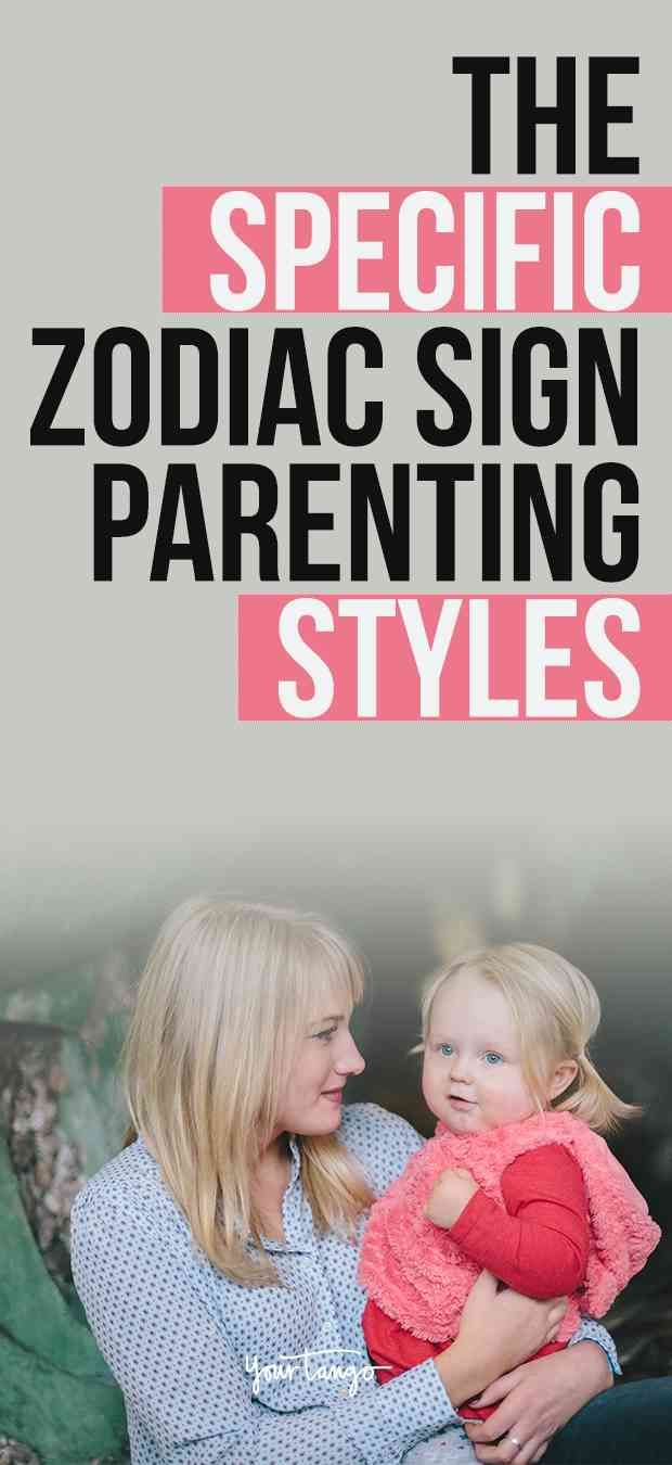Specific zodiac sign parenting styles