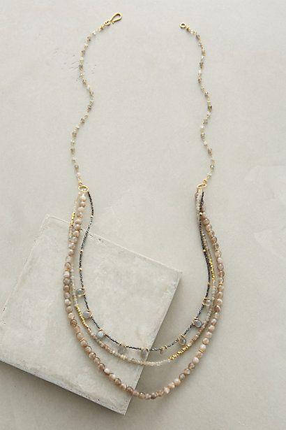 Robindira Unsworth Minerals Necklace #anthropologie