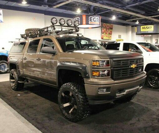 Lifted  2015 Chevy Silverado Z71
