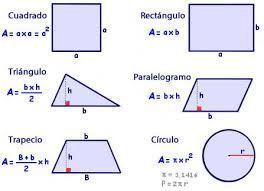 perímetro y el área de las figuras. - Buscar con Google