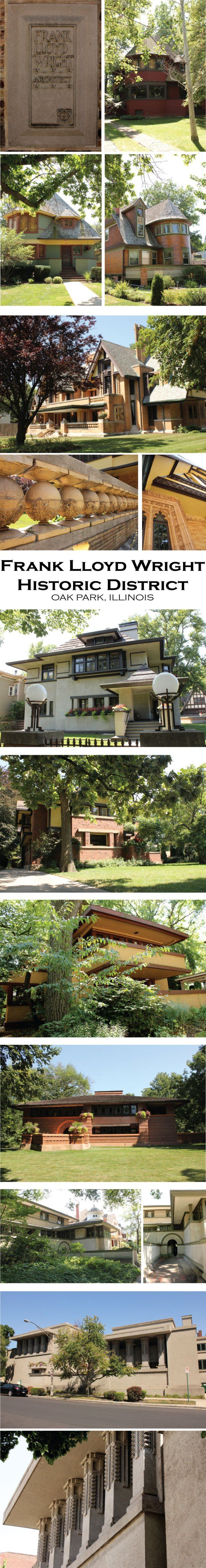 Been here! Frank Lloyd Wright Historic District, Oak Park, IL   Redesigned By M