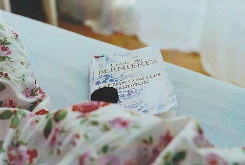the hours spent in my bed reading and eating...