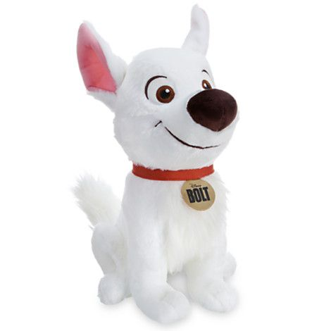 Look out! Bolt is coming to your rescue - whether you need it or not! BOLT PLUSH SOFT TOY DOLL (14 inches) #Disney