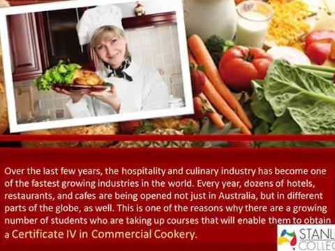 Advantages of Securing a Certificate IV in Commercial Cookery - YouTube