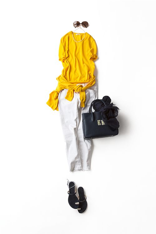 Kyoko Kikuchi's Closet | 色を、品よく遊びを加えて着たい