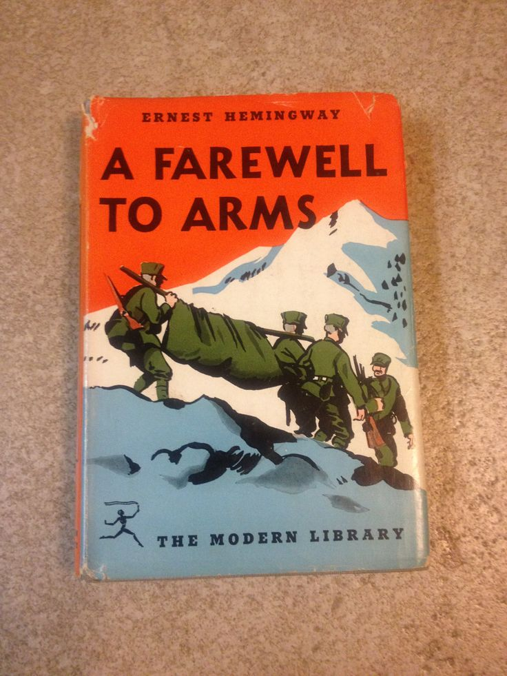Modernism approach in a farewell to arms
