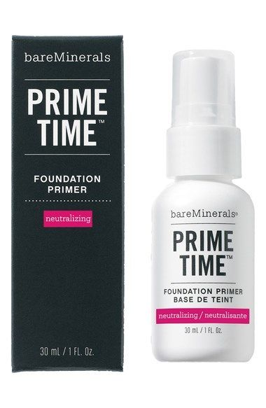 BareMinerals Prime Time Neutralizing Foundation Primer via @stylelist | http://aol.it/1pqqQkY
