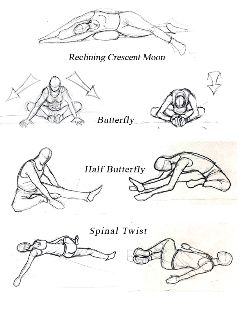 yin yoga poses  google search