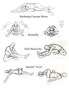 yin yoga poses  google search