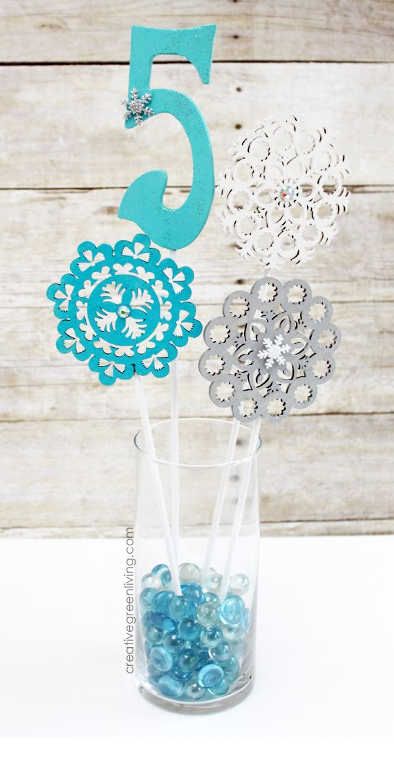 How to Make Easy Party Centerpieces ~ Creative Green Living