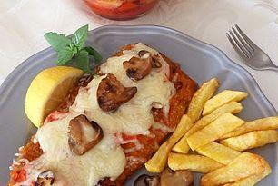 Σνίτσελ φούρνου με μοτσαρέλα... ωδή στη νοστιμιά & την απλότητα