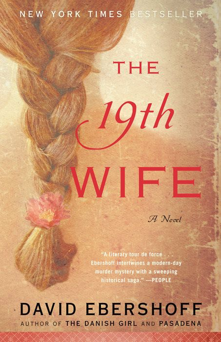 I read David Ebershoff's  The 19th Wife  for the first time while moving cross-country in a rented Budget truck with my dad driving and my cat meowing. Needless to say, in order to keep me reading, I needed a book that was enticing enough to hold my attention, even above the meowing.  The 19th Wife , with its combination of modern mystery and beautifully written historical fiction, proved to be the book to save my sanity on that never-ending road trip.