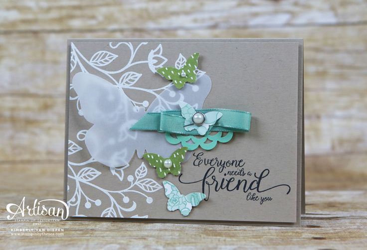 Flourishing Phrases and Suite Sentiments stamp sets.