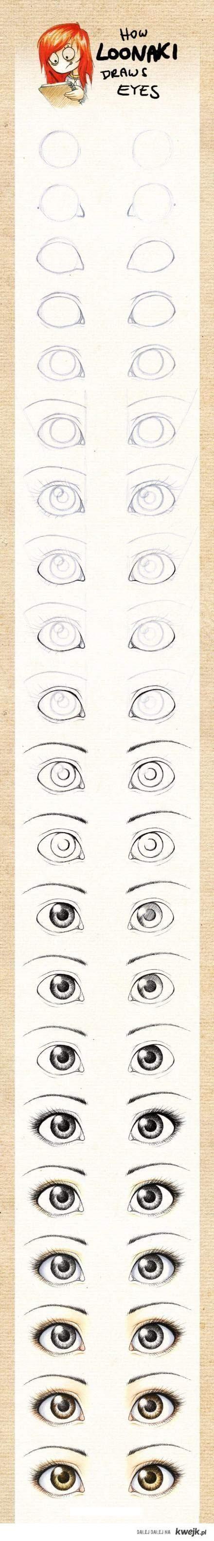 """Dessiner des yeux """"manga""""..."""