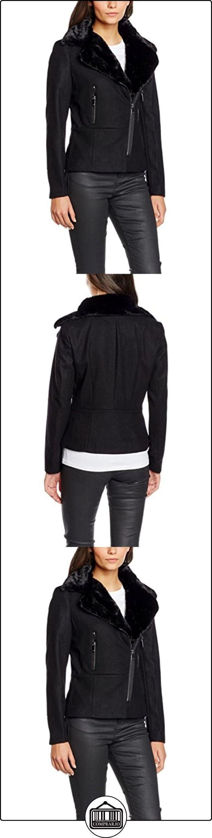 Morgan Gmarc, Impermeable para Mujer, Negro, 40  ✿ Abrigos y chaquetas ✿