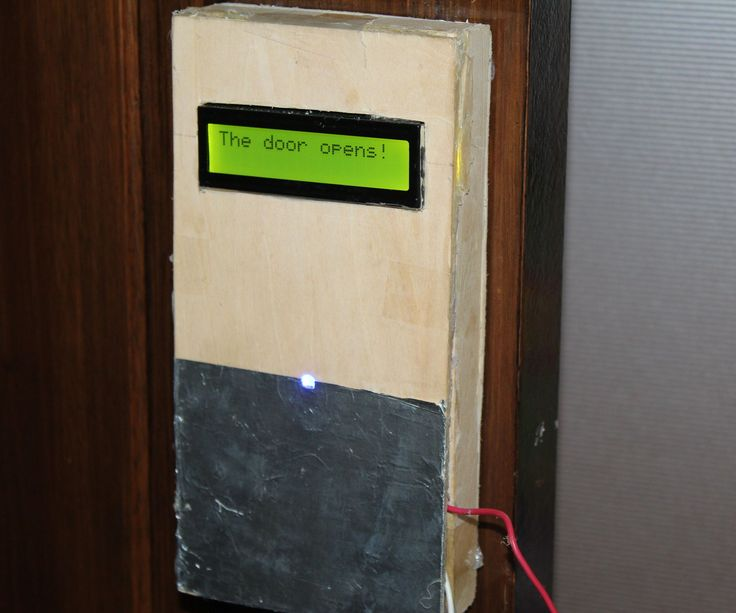 Arduino home automation, Automatic door opene